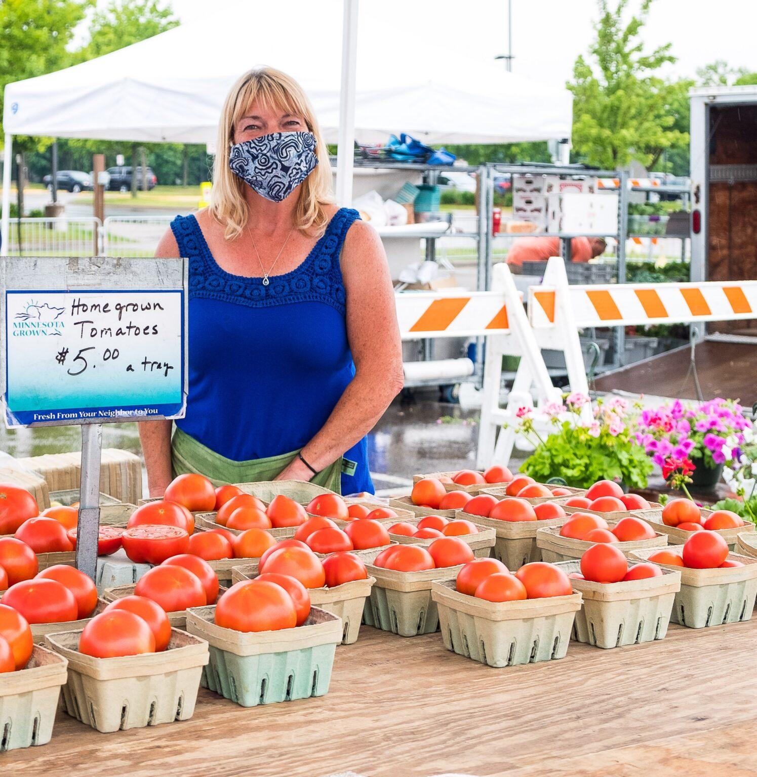 Masks at the Market